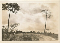 WWII 1945 US 40th Inf photo #246 Luzon tractor moving artillery to Storm King