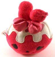 "Num Noms RASPBERRY CREAM - Soft Plush SCENTED 6"" tall 14"" Round Stuffed Toy"