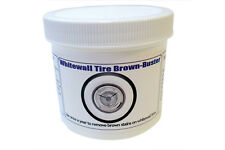 Truespoke Whitewall Tire Brown Stain Remover and Cleaner White Walls Cleaned