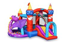 Inflatable Bounce House Dragon Quest with Ball Pit Bouncer