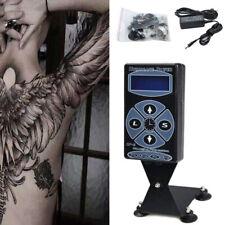Pro Hurricane Digital LCD Display DUAL Tattoo Power Supply HP-2 Plastic New