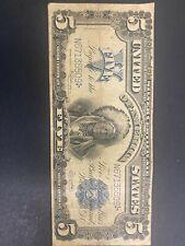 1899 $5 Chief Silver Certificate