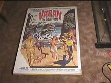 VARAN 1962 ORIG MOVIE POSTER HORROR SCI FI MONSTER