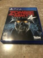 Zombie Army 4: Dead War (Sony Playstation 4, 2019) PS4 - Fast Free Shipping
