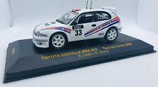 IXO 1/43 Toyota Corolla WRC #33 Tour de Corse 2000 Loeb / Elena RAC062