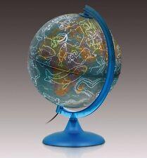 Globe 25cm ILLUMINATED 'Night & Day' shows Night Sky Constellation when Lit