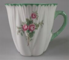 SHELLEY ROSEBUD DEMITASSE CUP ONLY  - DAINTY