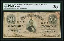 Confederate Currency T66 $50 1864 PF-5 Cr. 498