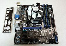 MSI B85M-E45 MS-7817 Mainboard 1150 Intel B85 Inkl. CPU i5 @ 3,50Ghz + 16GB