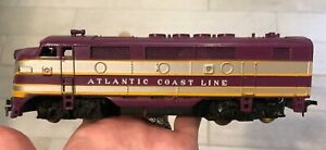 VARNEY HO SCALE MODEL Trains Atlantic Coast Line Powered Diesel Locomotive