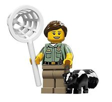 Series 15 n-08 Animal control 71011 LEGO,minifigure,serie