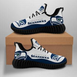 Seattle Seahawks Sneaker Running Shoes For Men Women Mesh Trail Training Shoes