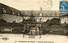 Carte BESANCON LES BAINS Hôpital Saint Jacques