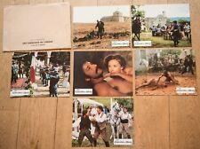 6 PHOTOS D'EXPLOITATION : LES CAVALIERS DE L'ORAGE de VERGEZ - KLEIN - JOBERT