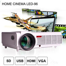 1080P 5500 Lumens Full HD LED LCD Smart 3D Home Cinema Theater Projector USB TV