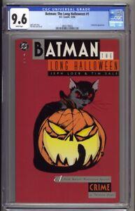 Batman The Long Halloween #1 CGC 9.6 Jeph Loeb Tim Sale (1996) Crime