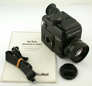 ROLLEI Rolleiflex SL2000F Planar HFT 1,4/50 50mm F1,4 Battery case TOP+WORKING
