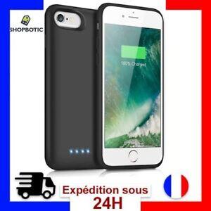 Coque Batterie Externe iPhone 6/7/6s/8 Rechargeable 6000mAh Haute Capacite