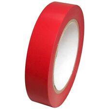 Red Vinyl Tape 1 inch x 36 yd. 1 roll. SPVC