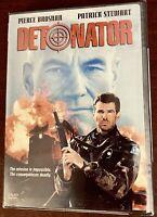 Detonator Pierce Brosnan, Patrick Stewart 1992, BRAND NEW SEALED DVD Death Train