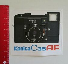 Autocollant/sticker: Konica C 35 AF appareil photo/camera (04011790)