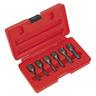 "AK8185 Sealey Screw Extractor Set 6pc 3/8""Sq Drive [Extractors] [Machine Shop]"