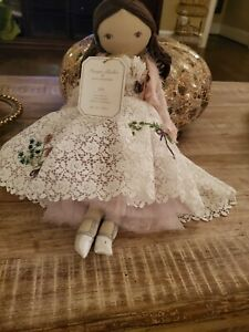 Pottery Barn Kids Monique Lhuillier ZOE Designer Doll in Original Packaging  NWT