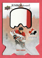 2016-17 Travis Sanheim Upper Deck Team Canada Juniors Jumbo Materials 58/75