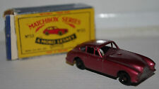 MATCHBOX LESNEY ASTON MARTIN NUMBER FIFTY THREE No 53 MODELS CARS TOYS