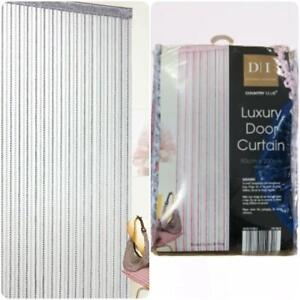 Luxury Privacy Door Curtain Mosquito Fly Bug Insect Net Screen Room Divider