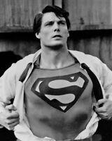 Movie SUPERMAN III Christopher Reeve Glossy 8x10 Photo Poster Print Clark Kent