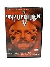 Wwe - Unforgiven 2001, Very Good Dvd, Kurt Angle, Steve Austin, The Rock, Rhyno,