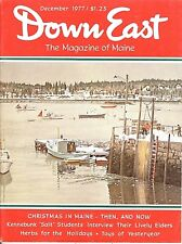 DOWN EAST MAGAZINE~DECEMBER 1977