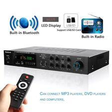 220V 5 Channel Bluetooth Hi-Fi Power Amplifier Stereo Surround Sound Karaoke NL