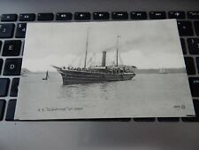 More details for ss claymore at oban --  argyll     postcard d37