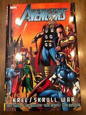 Marvel Comics Deluxe Oversize Hardcover Avengers: Kree/Skrull War 1st Print HQ