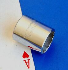 """Proto Professional 3/8"""" drive 11/16"""" Shallow 12-point Chrome Socket wrench NEW"""