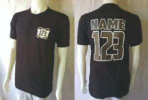 Kids Custom Motocross Enduro Tshirt - Personalised MX Racing  - Name and Number