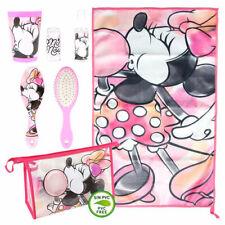 Disney Minnie Mouse Neceser Bolsa de Viaje Con 4 Handy Artículos