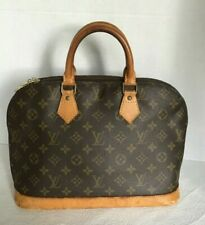 Louis Vuitton Handbag Monogram Alma VI0973 Authenticity Verified