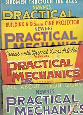 Various Issues of PRACTICAL MECHANICS Magazine October 1933 to December 1940