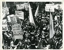 "Cinéma, ""Salvatore Giuliano"" Vintage Print Tirage argentique  20x25  Circa"