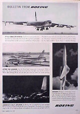 1957 Boeing B 52 Bomber Jet Airplane Aviation ORIGINAL Ad CMY STORE FOR MORE ADS