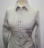 Country Classics Womens Check Shirts - Tattersal Check - Long Sleeve. Smart