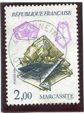 STAMP / IMBRE FRANCE OBLITERE N° 2429 MINERAUX MARCASSITE