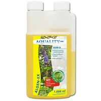 AQUALITY Algen-EX 1000 ml wirkt gegen Aquarium Algen Algenmittel Algenvernichter