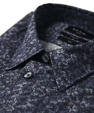WOW! NEW Tags Paul Smith London blue floral tailored fit shirt 16 $295 Italy