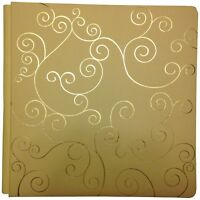 Creative Memories 12x12 Cream Swirl Album Cover Set Old Style NEW