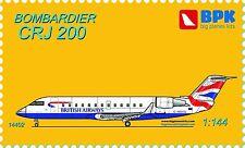 BPK - 14402 - Bombardier CRJ 200 (6 variants of coloring) - 1:144