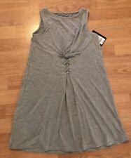 Art Class Girls Lace Front T-shirt Dress Gray Size Large 12/14